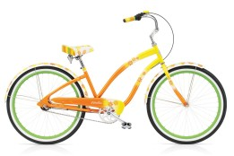 Bicycle Electra Daisy Yellow Fade