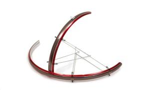 Калници за велосипед 28″ Red Anthracite