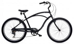 Велосипед Electra Cruiser Lux 7D черен