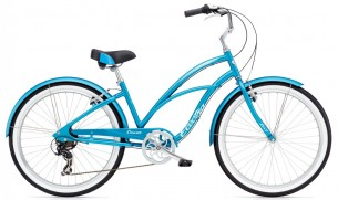 Велосипед Electra Cruiser Lux 7D син