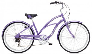 Велосипед Electra Cruiser Lux 7D Лилав