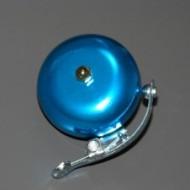 Син алуминиев звънец с чукче